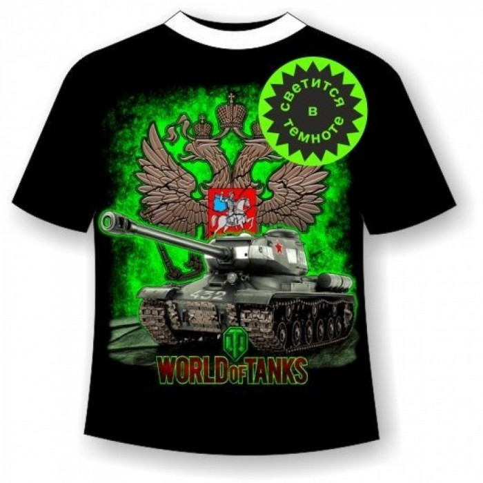 Футболка Мир танков