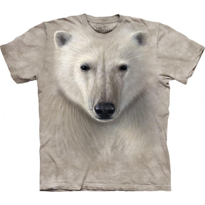 Футболка Монтейн. Белый медведь.